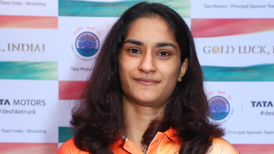 Vinesh Phogat is a two-time Commonwealth Games champion.