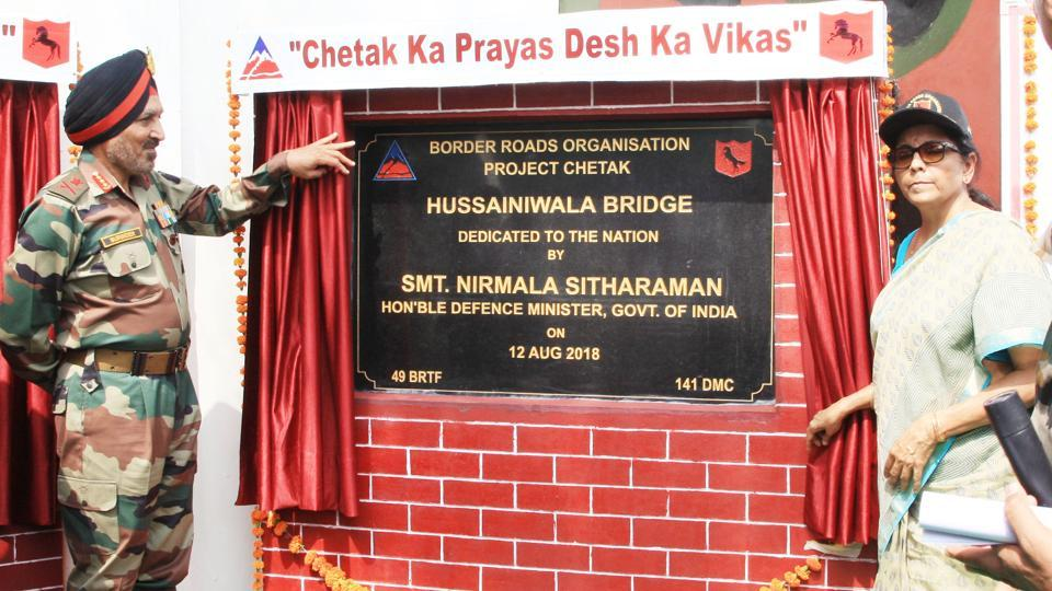 Hussainiwala bridge,1971 Indo-Pak war,Border Roads Organisation