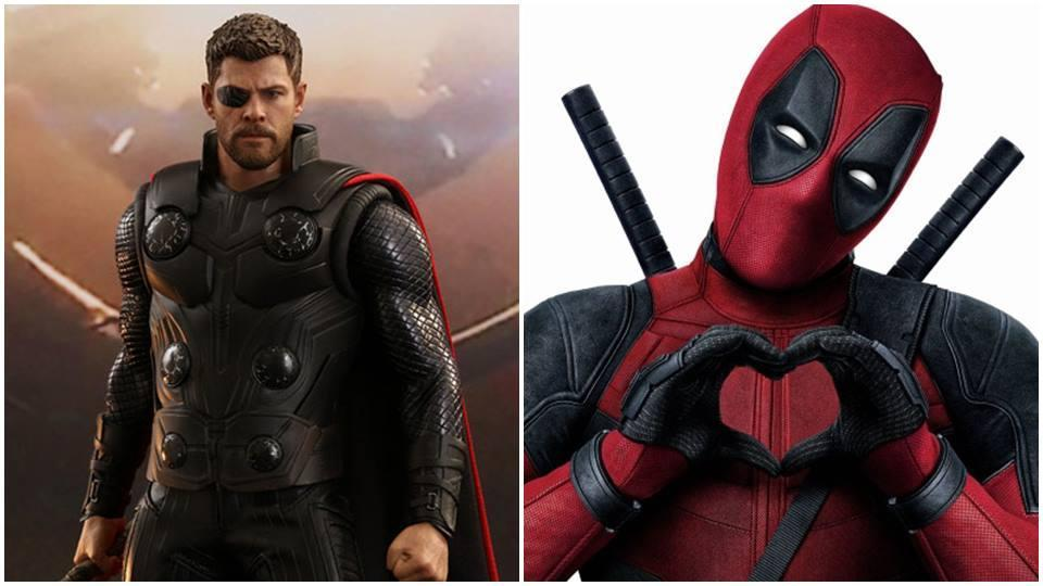 Chris Hemsworth will play Deadpool and Ryan Reynolds would be Thor