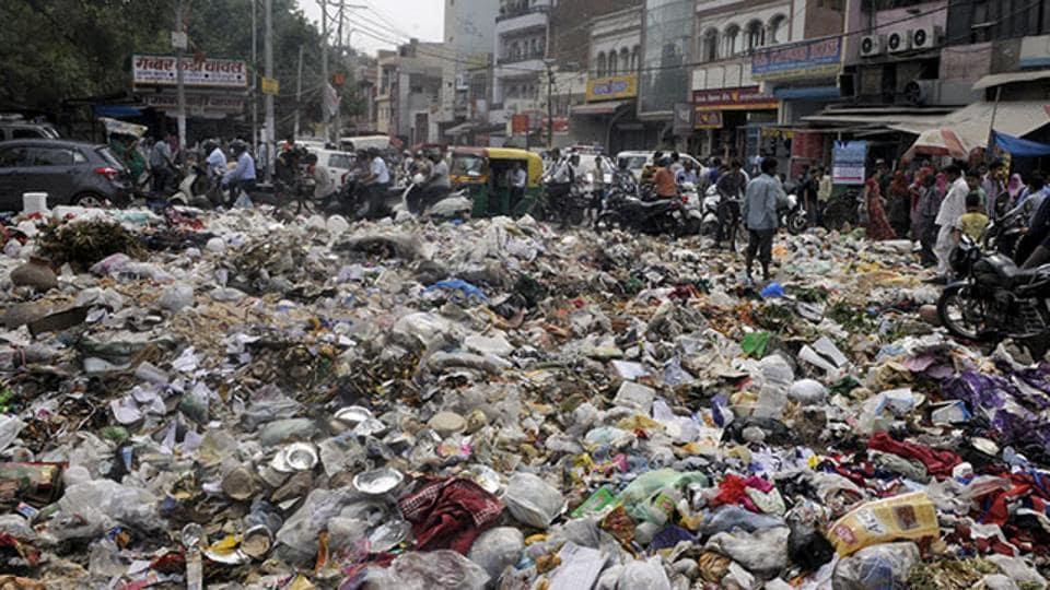 Waste management,Garbage,Gurugram