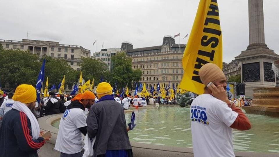 "More than 2,500 pro-Khalistan supporters gathered to issue what the organiser, US-based Sikhs for Justice, called a ""London declaration"" to hold the ""Referendum 2020""."