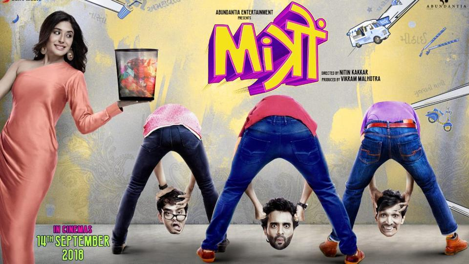 There is no need to lose your head over the poster for Jaccky Bhagnani's Mitron.