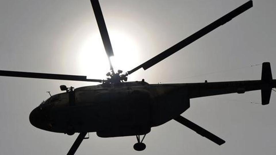 Helicopter landing in Tajikistan,Tajikistan,Hard landing