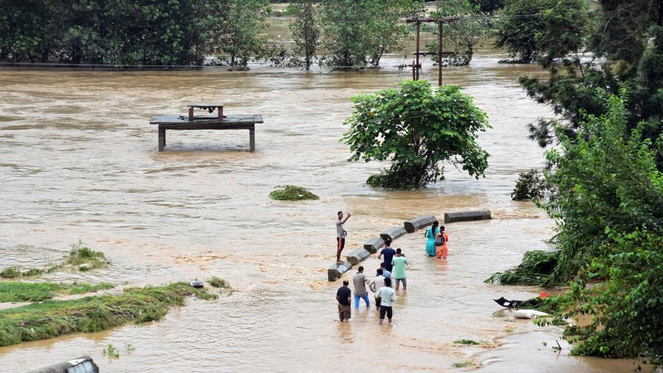 Landslide,rains in Himachal Pradesh,Rains in north India