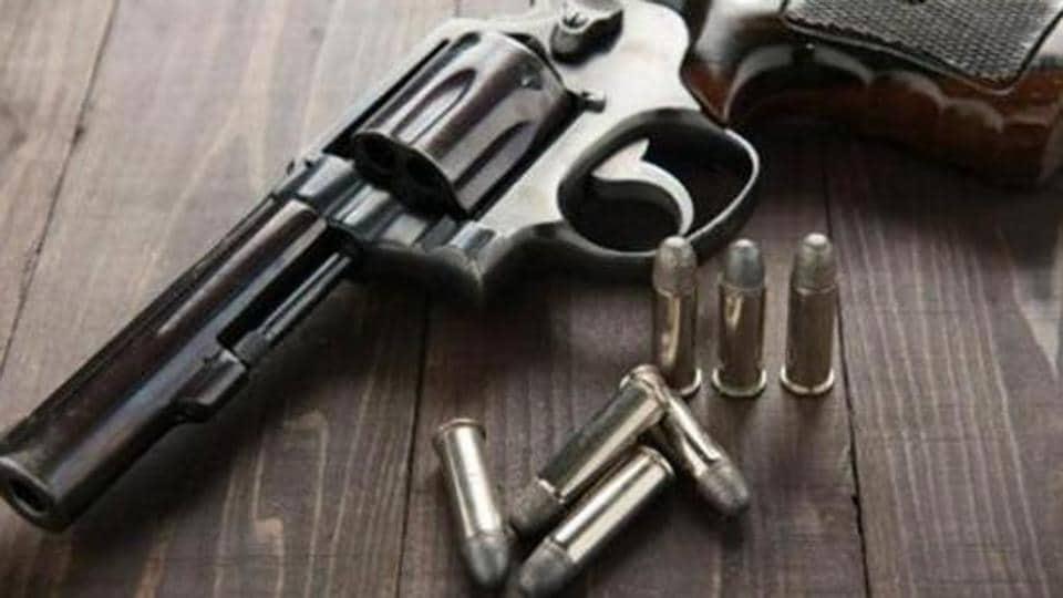 Gunshot wound,Husband,Wife
