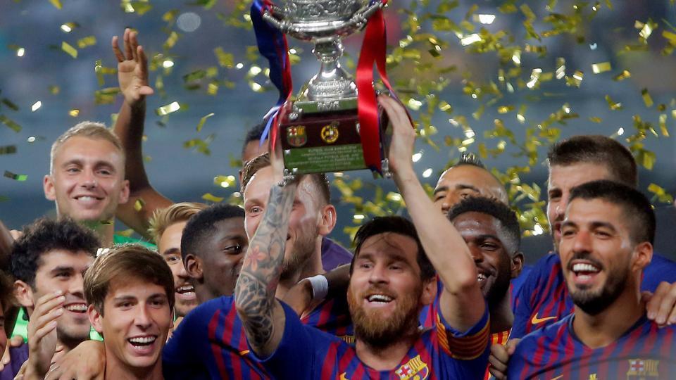 Barcelona,Sevilla,Spanish Super Cup