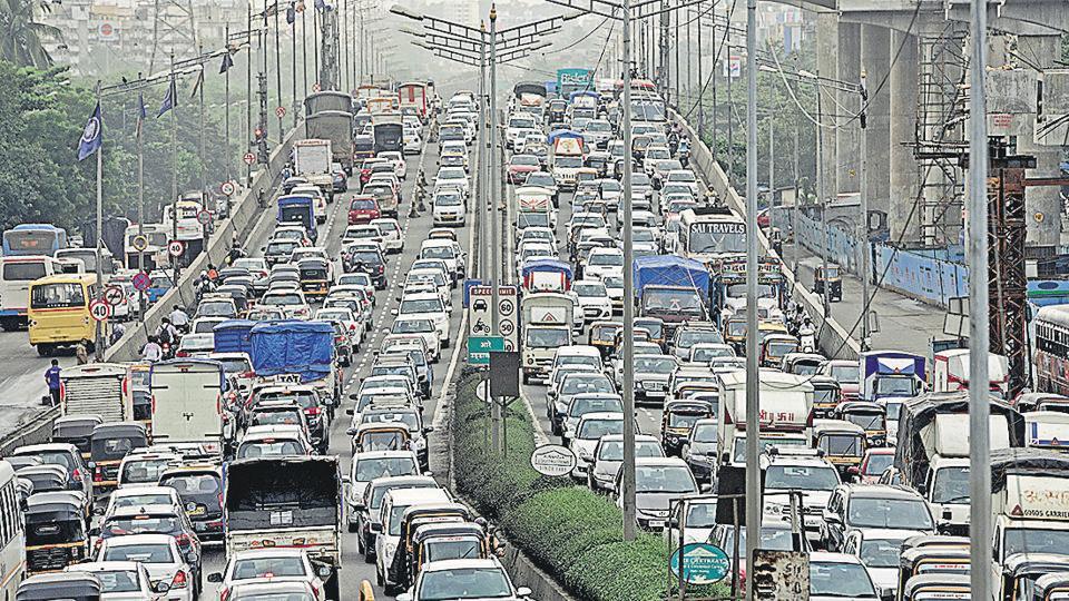 Haji Ali flyover,Traffic congestion,Mumbai