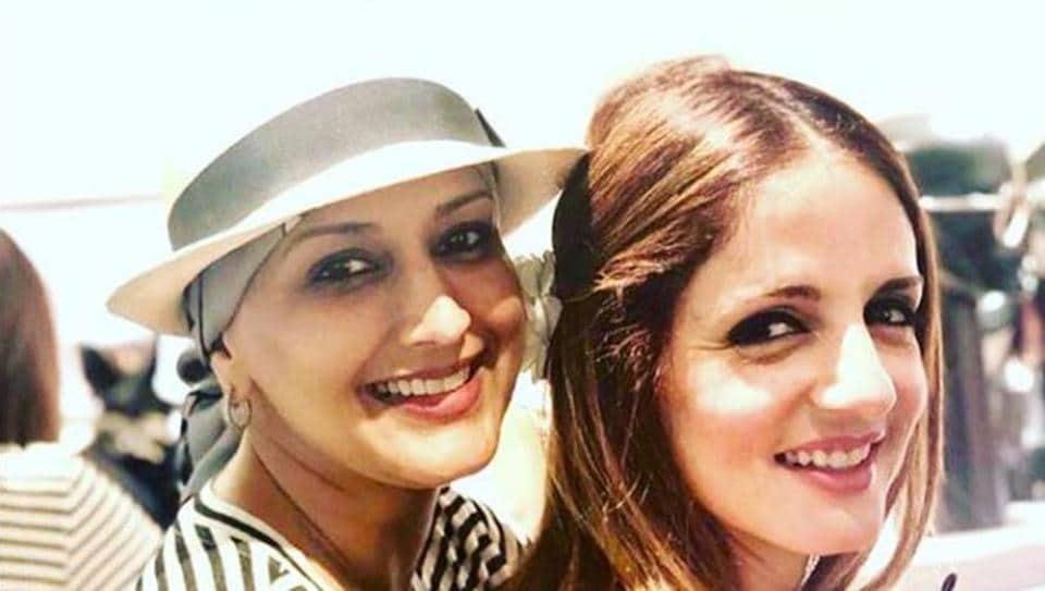 Sonali Bendresussanne Khansonali Bendre Pics