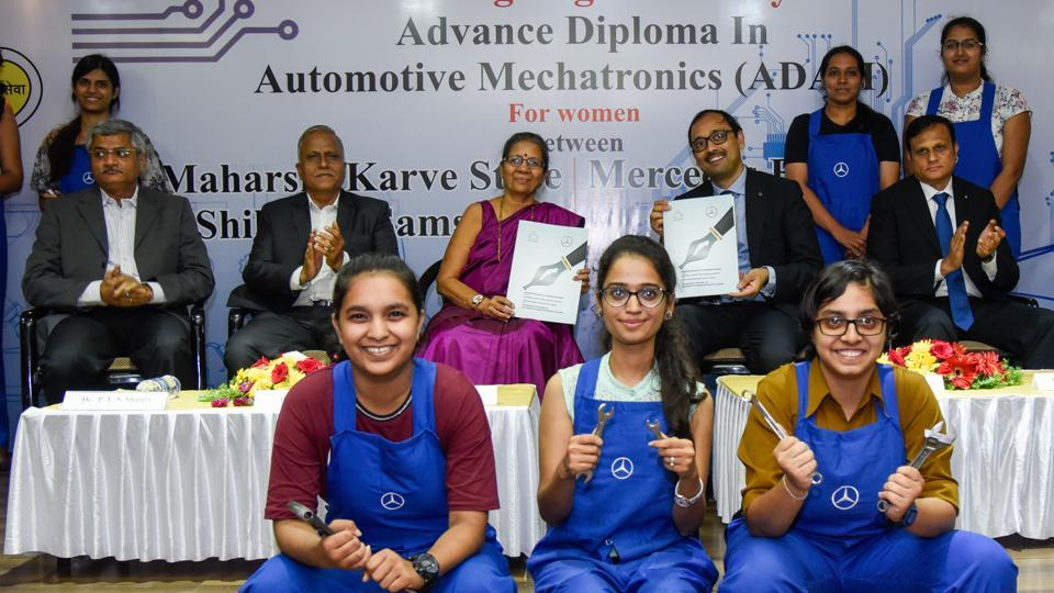 first women only automotive mechatronics course at pune college