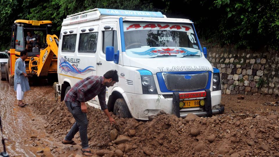 As per reports, two dozen houses and structures suffered damaged due to rains, flash floods and landslides in Jammu, Kathua, Poonch, Rajouri, Udhampur and Reasi districts and scores of vehicles have been damaged in Jammu city.