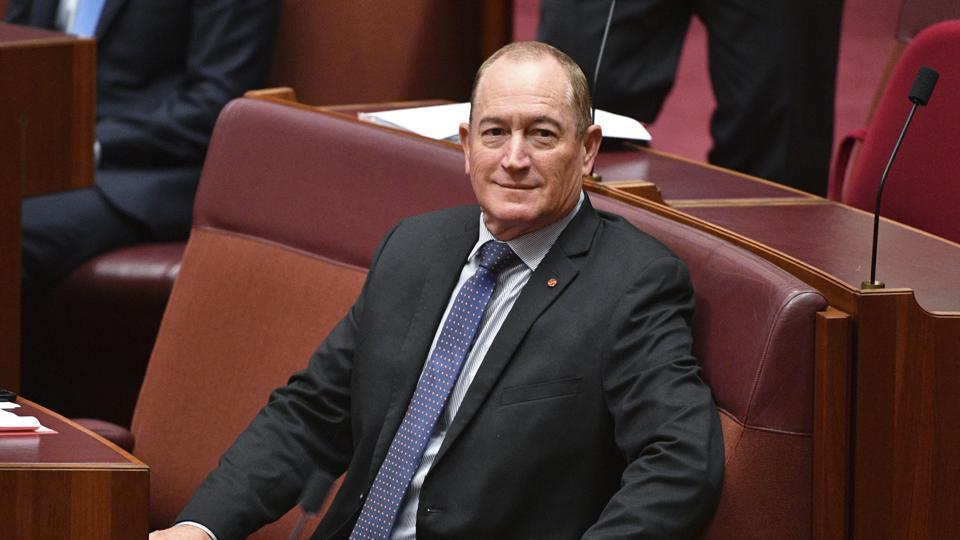 Australian politician,ban on Muslim migration,Fraser Anning