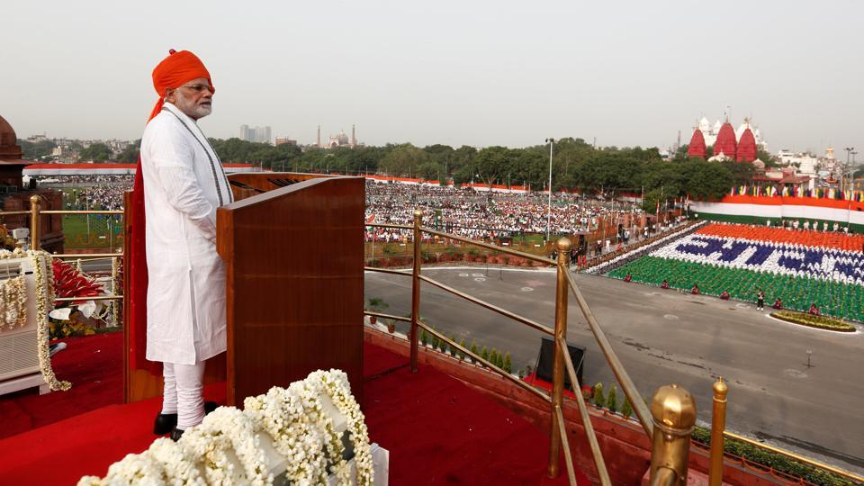narendra modi live speech,independence day live speech,pm narendra modi speech at red fort