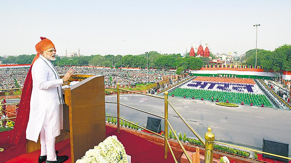Modi's Independence Day speech focused as much on