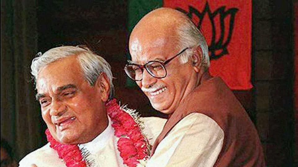 Atal Bihari Vajpayee and L K Advani were political partners and colleagues for over seven decades.