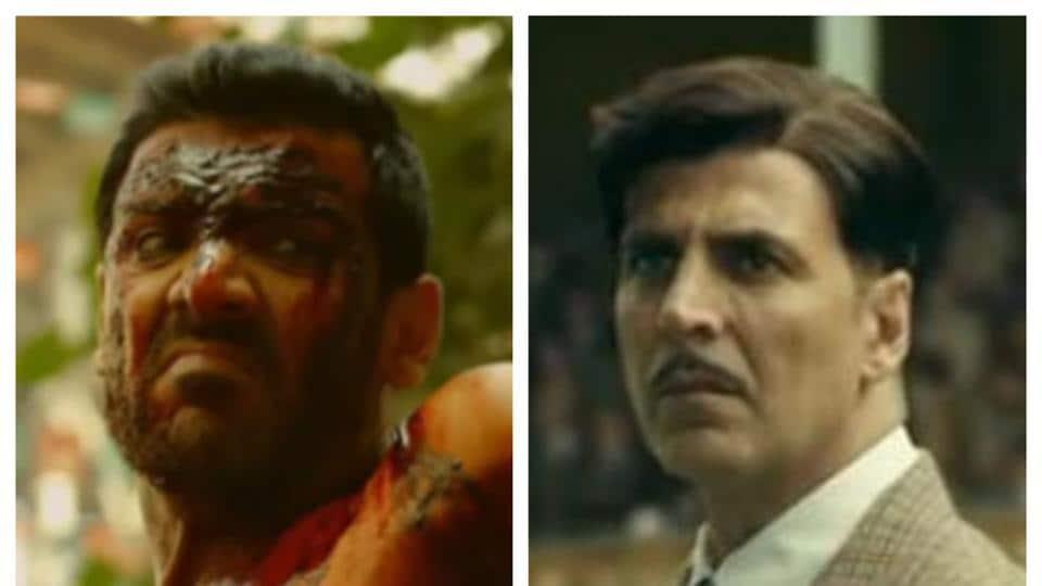 Box office records broken by Akshay Kumar's Gold and John Abraham's Satyameva Jayate.
