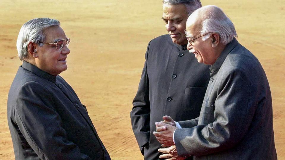 Atal Bihari Vajpayee death,Atal Bihari Vajpayee,LK Advani