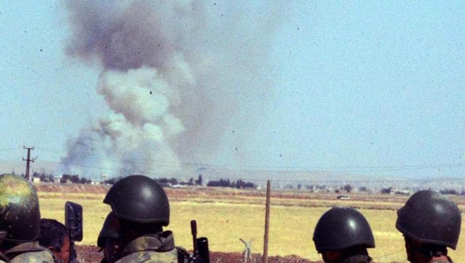 Iraq says its air force hit Islamic State militants inside ...