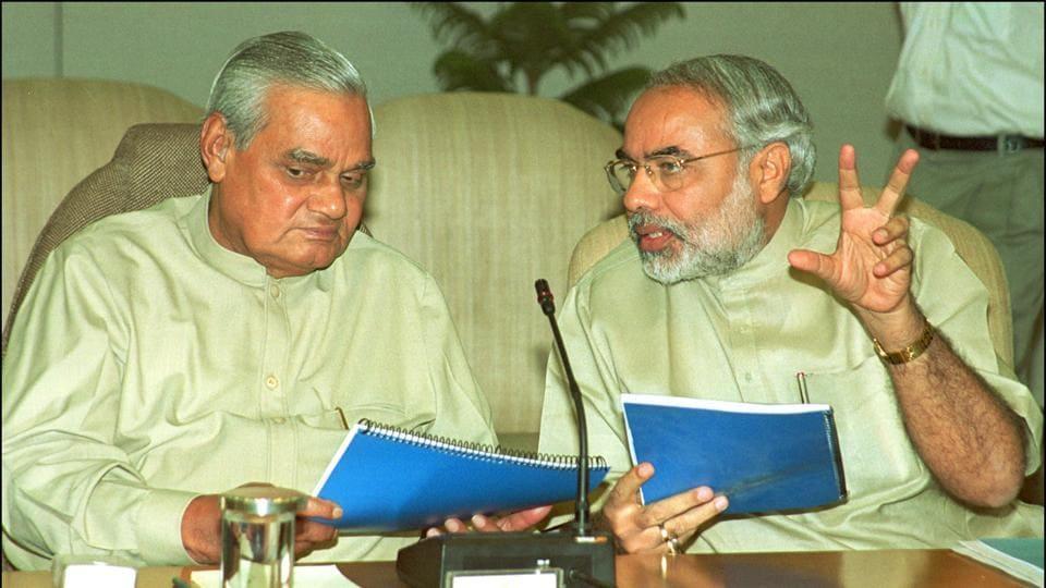 Atal Bihari Vajpayee,Vajpayee,Narendra Modi
