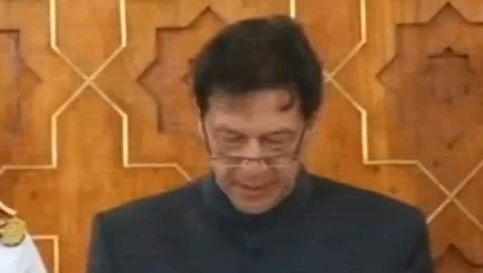 Imran Khan,Imran Khan oath taking,Imran Khan Pakistan PM