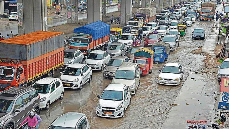 monsoon,rain in chandigarh,weather in punjab