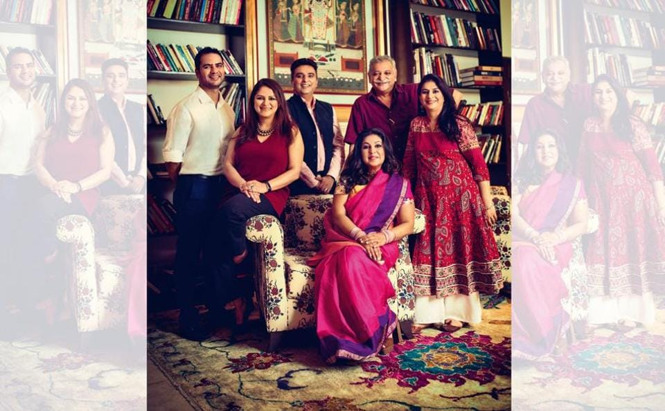 Our this week's cover stars share an undying passion for books. Clockwise from left: Kapil and Priya Kapoor, Ajay Mago, Anuj Bahri and Rajni Malhotra, and Priti Paul; Location Courtesy: The Library at Bikaner House, New Delhi; Make-up and hair: Kangna Kochhar