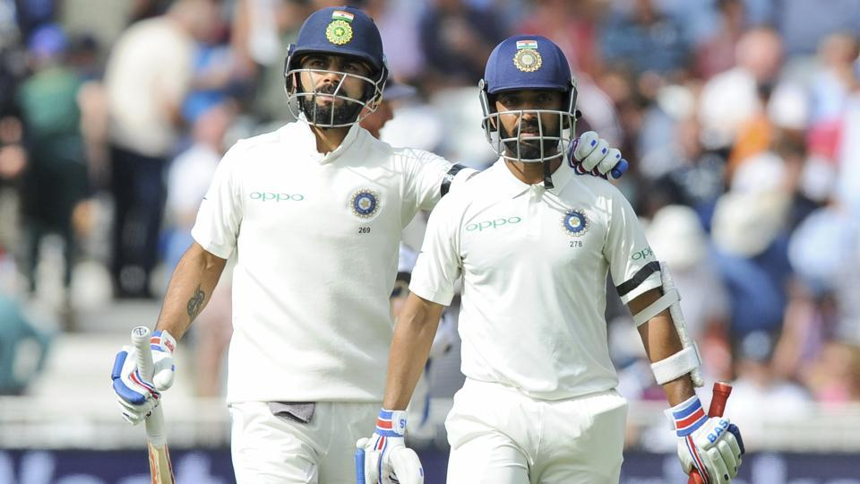 India vs England: Virat Kohli, Ajinkya Rahane hit fifties to rally India at Trent Bridge