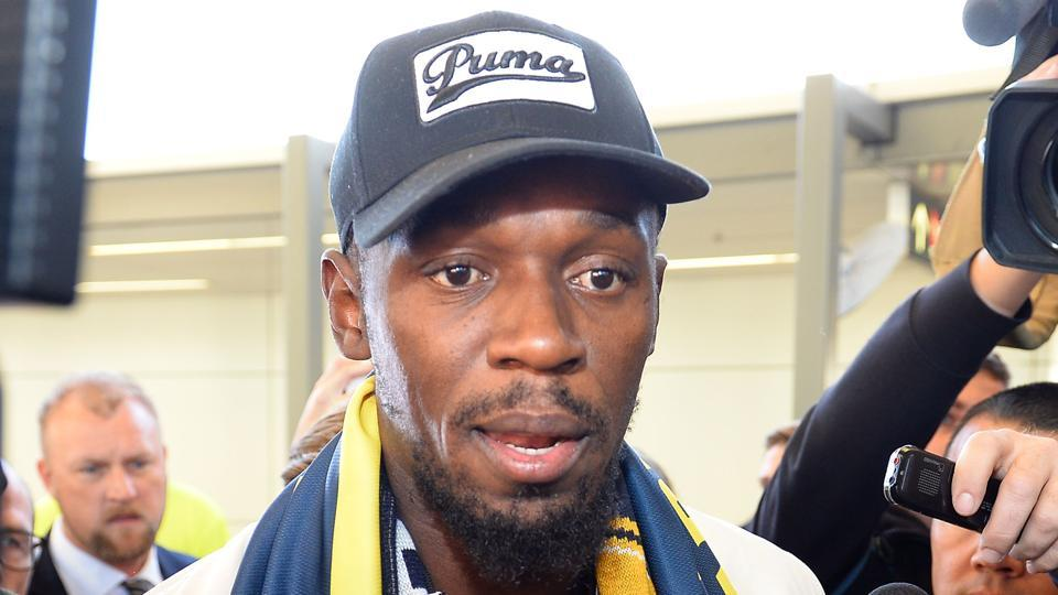 Usain Bolt,A-League,Central Coast mariners