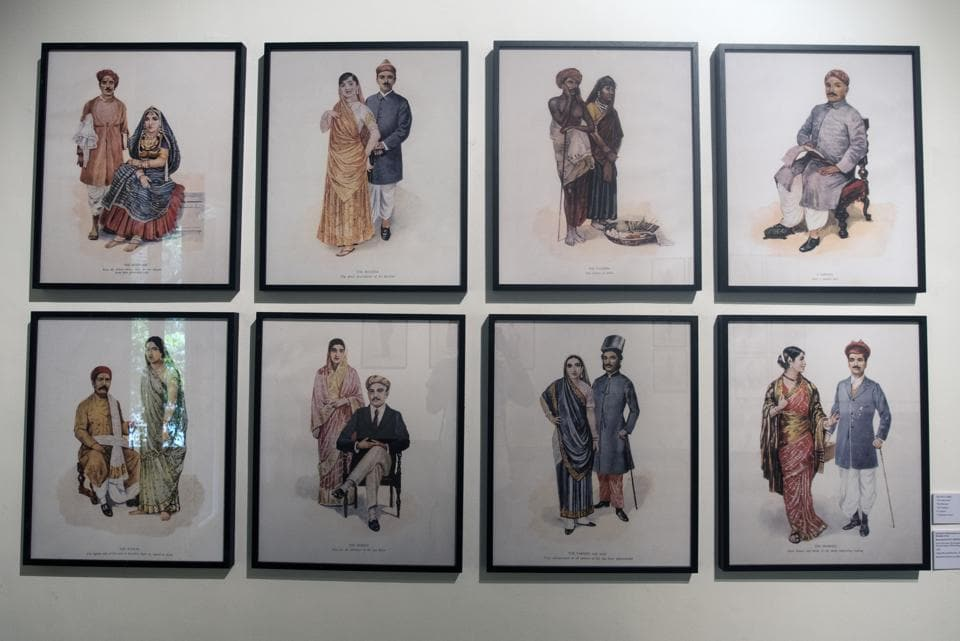 Couples from different communities find representation in works by MV Dhurandhar - who was, incidentally, the first Indian principal of the JJ School of Art.