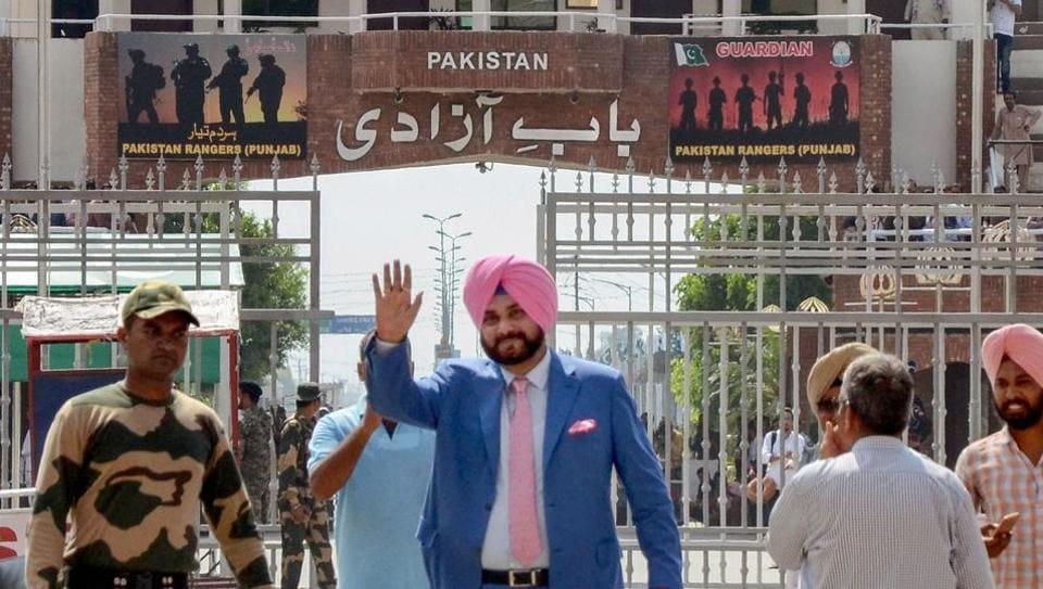 Pakistan,Navjot Singh Sindhu,Kartarpur Sahib gurdwara