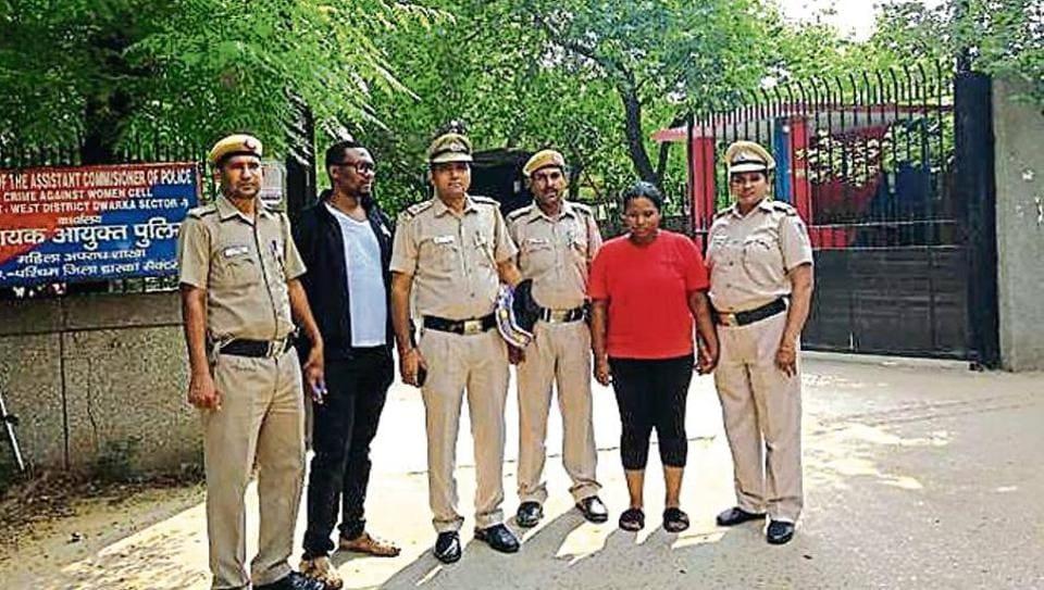 Crime,Delhi,Nigerian