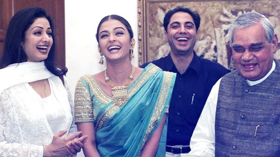Aishwarya Rai Bachchan,Aishwarya Rai,Atal Bihari Vajpayee