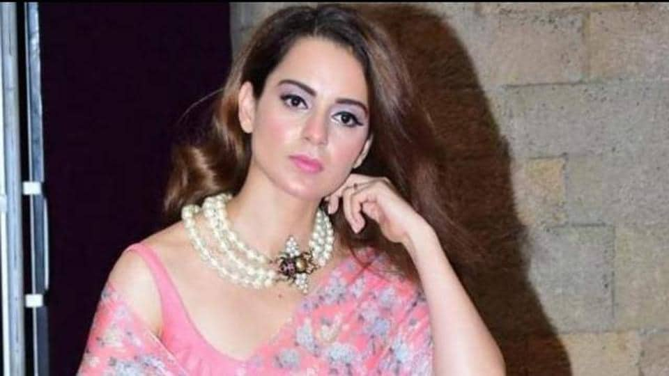 A real estate broker has filed a police complaint against Kangana Ranaut.