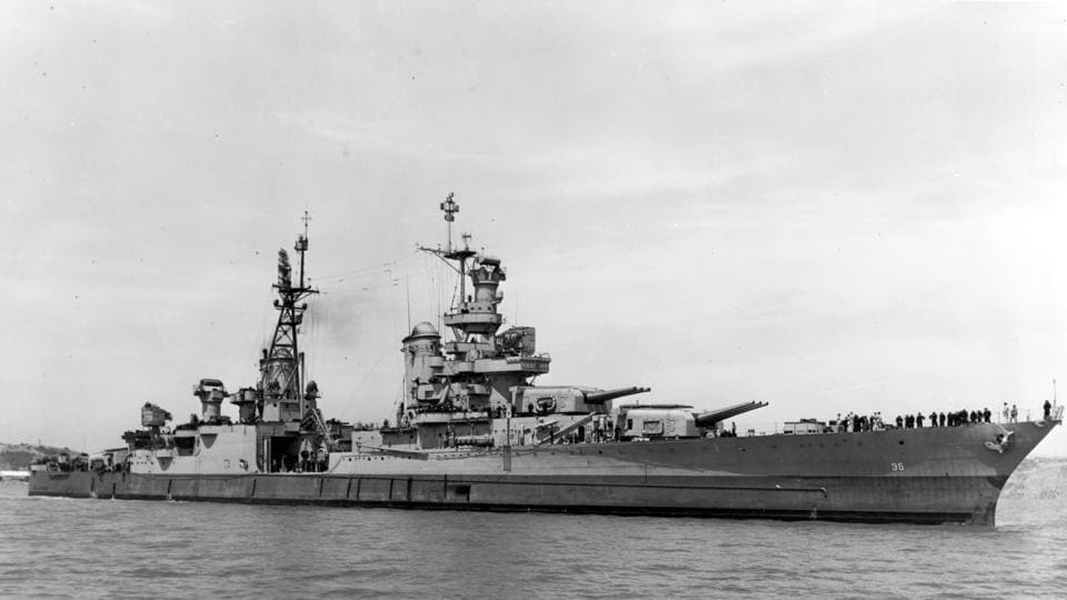 US Navy destroyer,USS Abner Read,Wreckage of USS Abner Read discovered