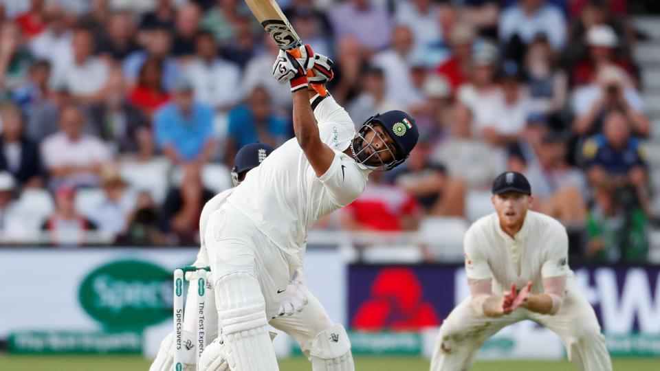 Rishabh Pant dismissed by Stuart Broad