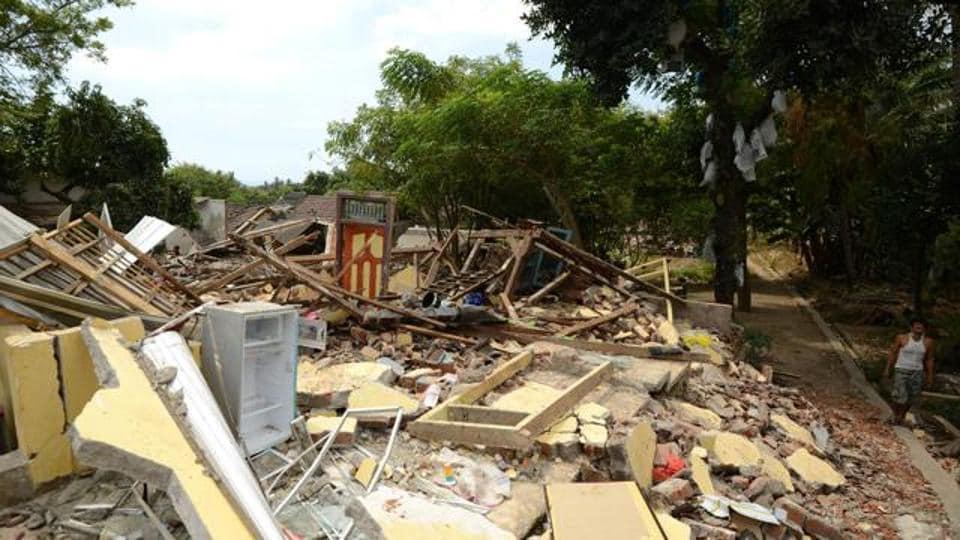 Lombok,Lombok earthquake,US Geological Survey