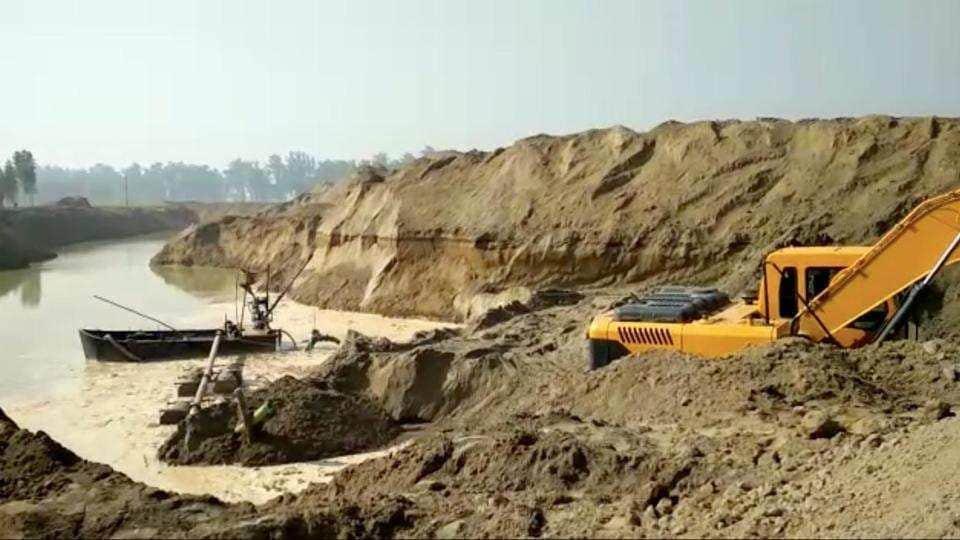 sand mafia,sand mining,haryana