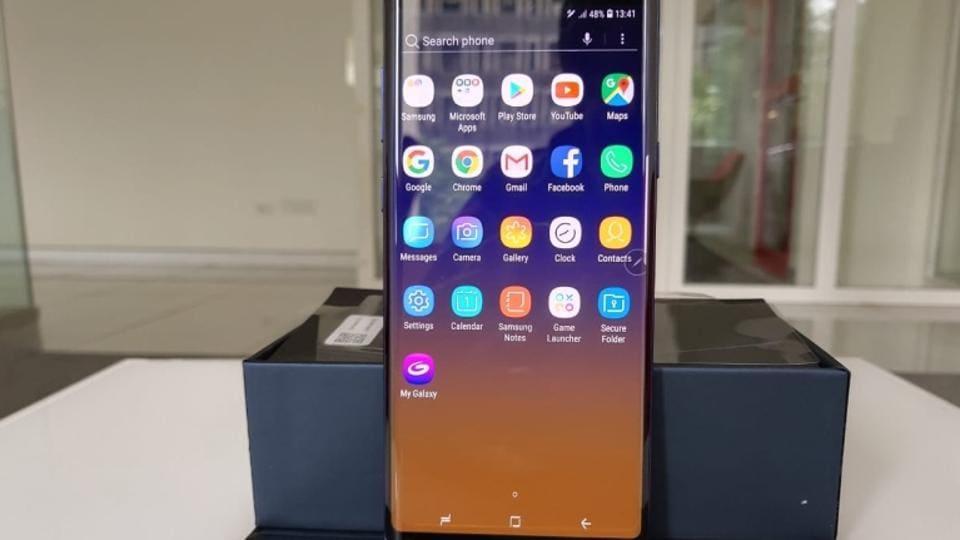 Samsung Galaxy Note 9,Samsung Galaxy Note 9 Price In India,Samsung Galaxy Note 9 Gsmarena