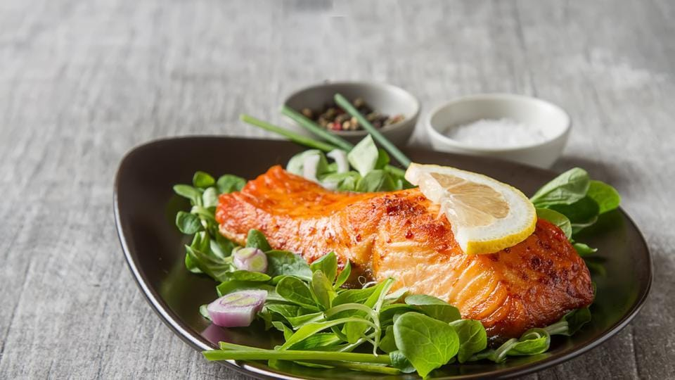 Salmon and oily fish provide our body with protein and healthy fats. The most important of these are omega-3 fatty acids, which have various health benefits and help in warding off diseases.  (shutterstock)