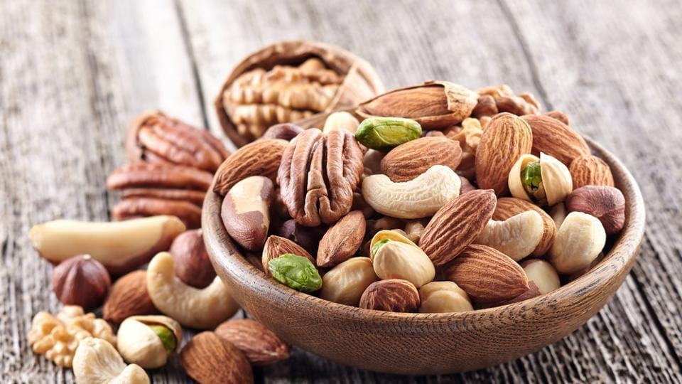 Nuts are an excellent choice if you are looking to put on weight. A handful of almonds daily can help you put on those kilos, and in a healthy manner. On the other hand, nut butters are another option which can be had with a variety of snacks.  (shutterstock)