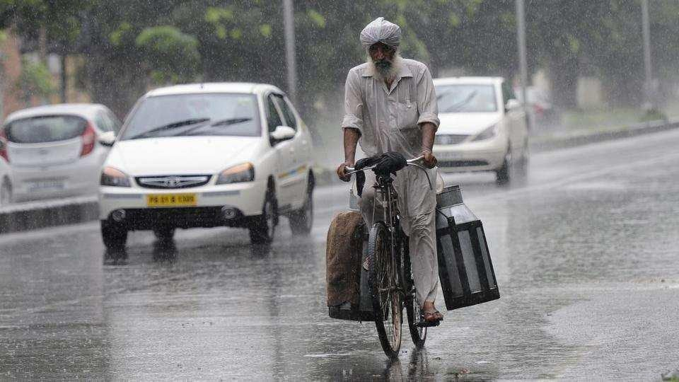 Chandigarh,Heavy rain,punjab