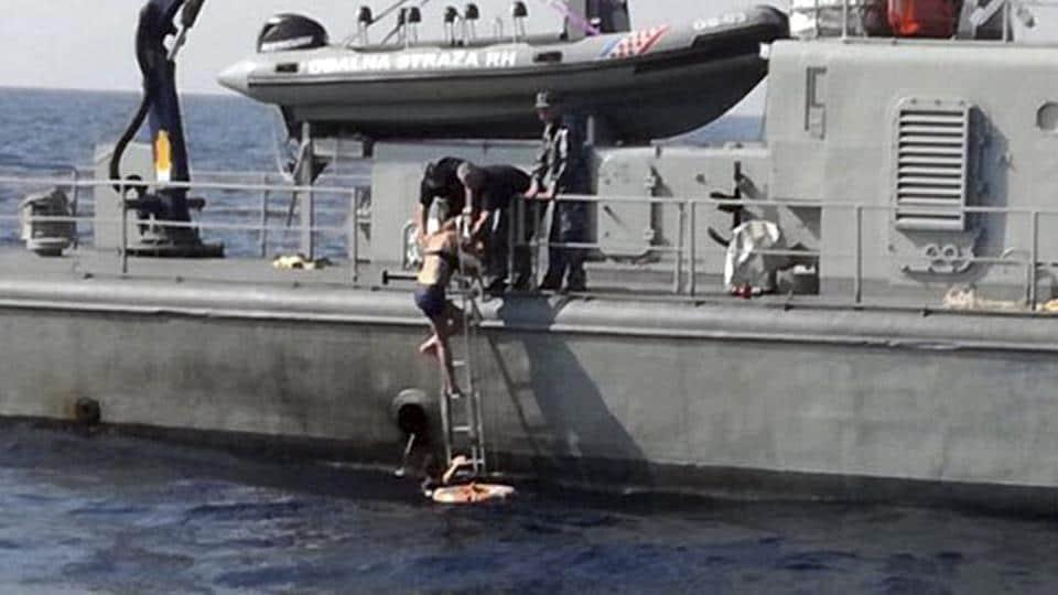 UK woman survives,Adriatic Sea,Cruise ship