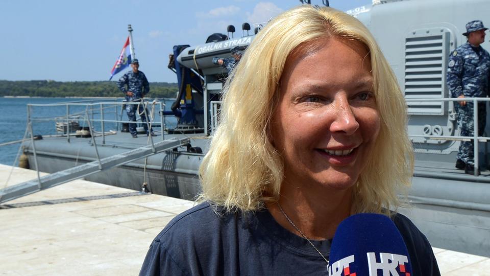 Kay Longstaff,Adriatic Sea,Croatia coast guard