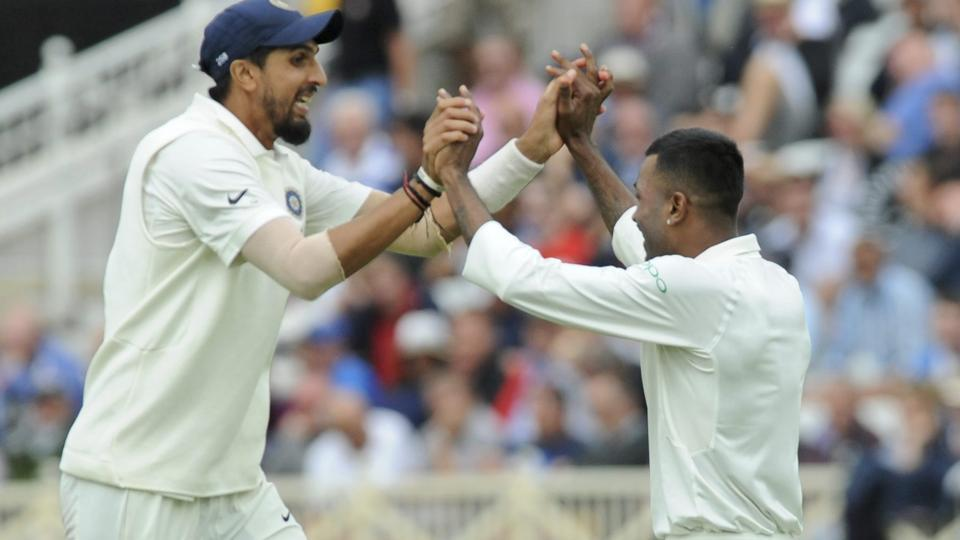 India vs England,Hardik Pandya,Ishant Sharma