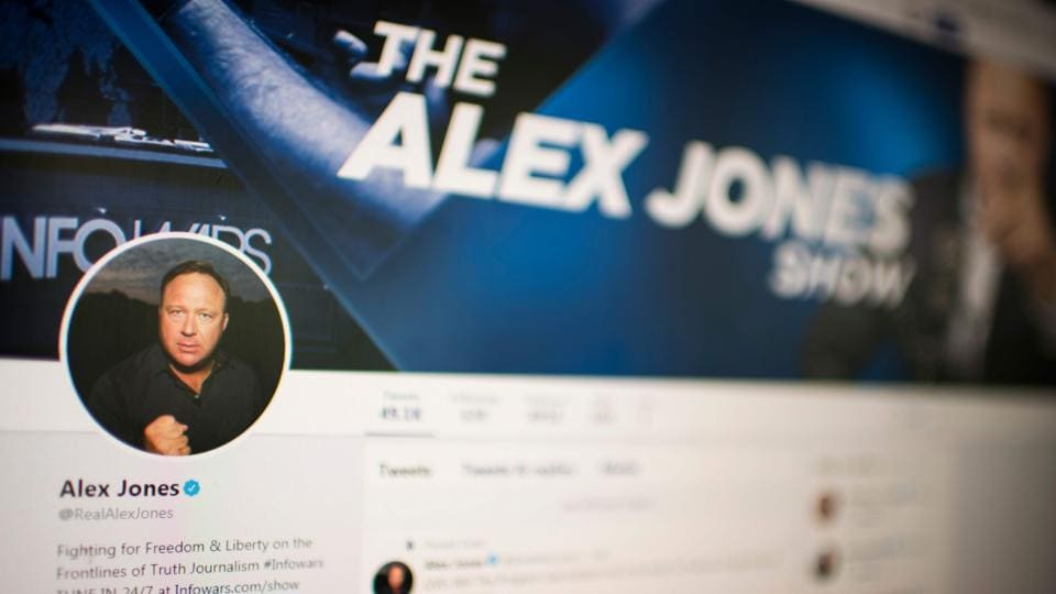 Twitter CEO,Twitter Alex Jones,Jack Dorsey
