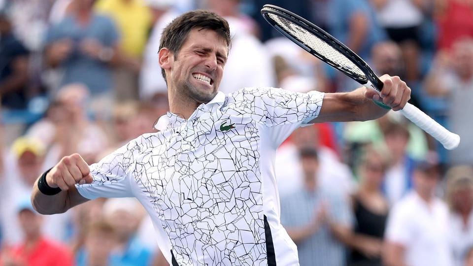 Novak Djokovic,Roger Federer,Cincinnati Masters