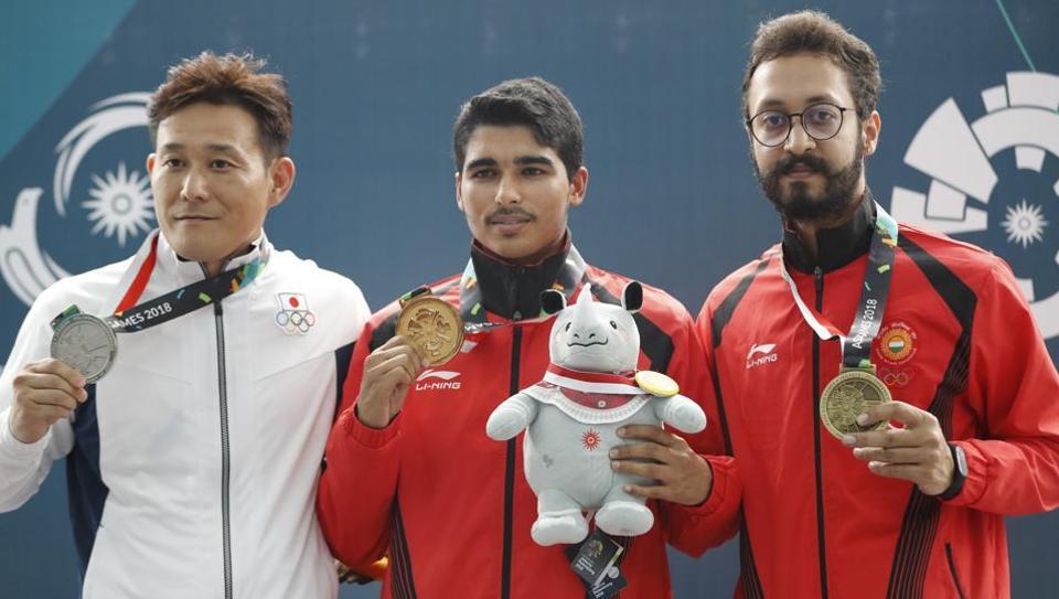 Asian Games 2018,Saurabh Chaudhary,Shooting Asian Games medal