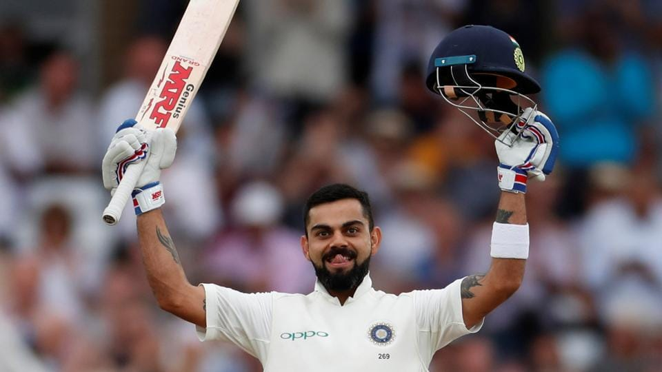 Image result for england vs india 3rd test Virat kohli 2018