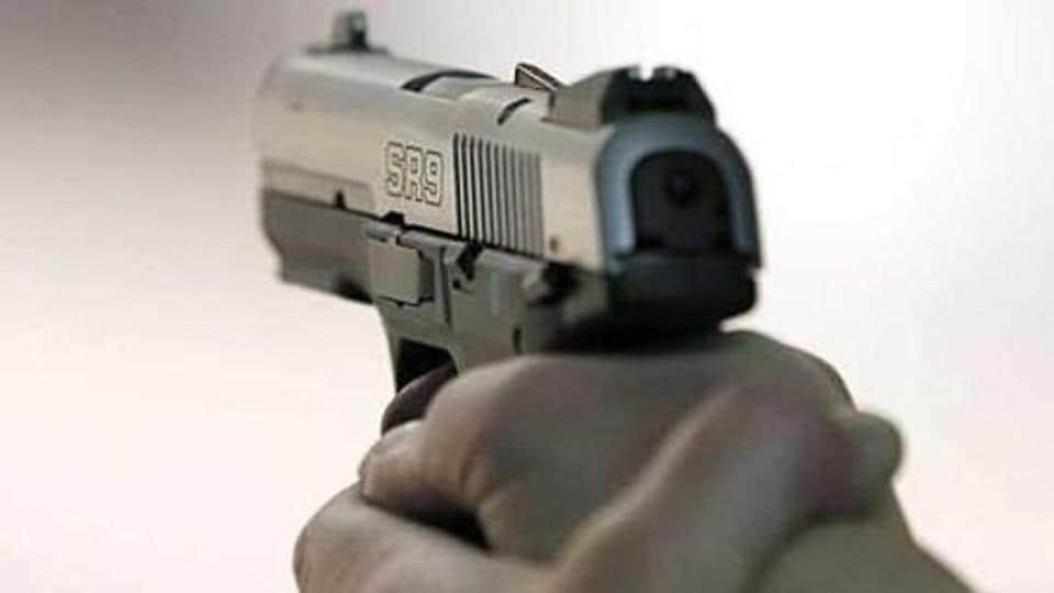 Vijaya Bank,Accidental fire,Gun