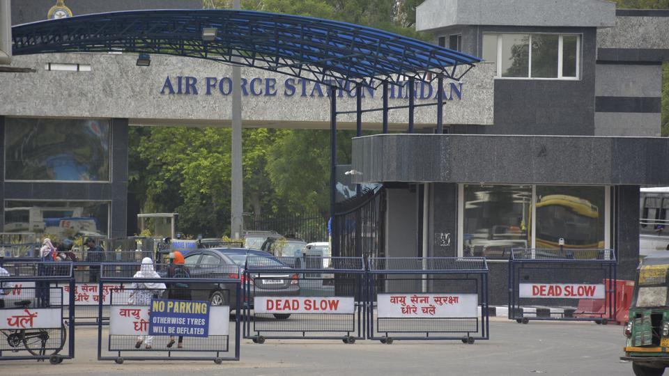 Hindon airbase,AAI,terminal at Hindon