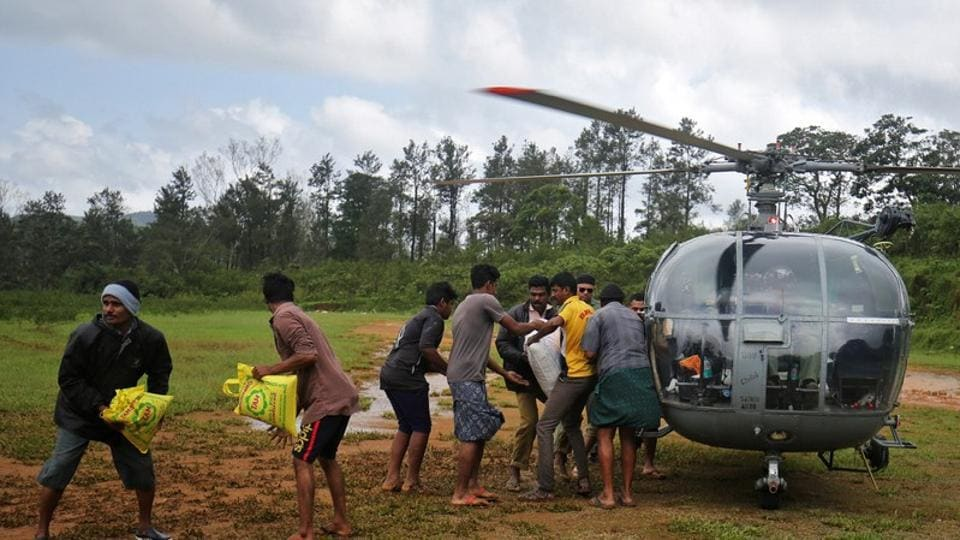 Kerala floods,Flood-relief operations,Kerala natural disaster